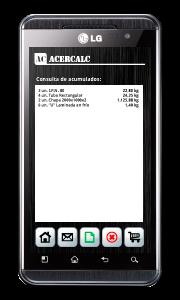Acercalc - Lista de artículos acumulados para compartir