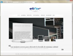 Web Elifer Aceros