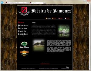 Web Ibérica de Jamones